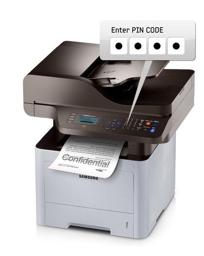 beveiligd printen