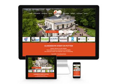 Website Hart voor Putten