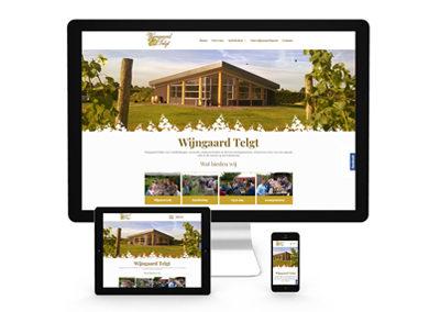 Website Wijngaard Telgt